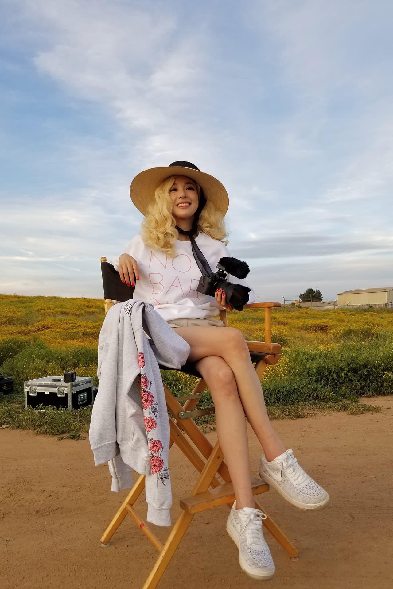 Tiffany Young K-pop Star Artist Singer Girls' Generation Not Barbie Merch T-Shirt Blonde Hair
