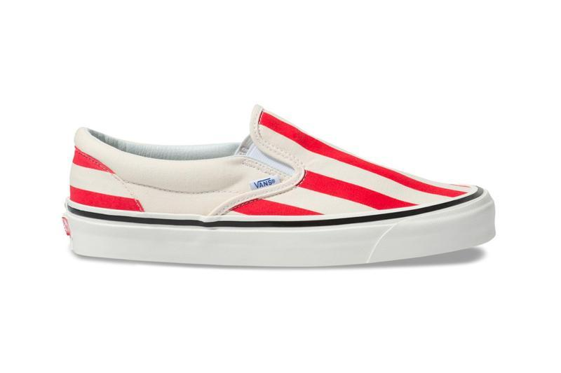 Vans Candy Stripe Slip On Era