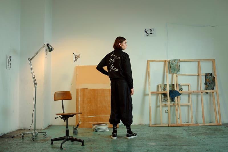 Y-3 Yohji Love Capsule Collection Jacket Pants Black