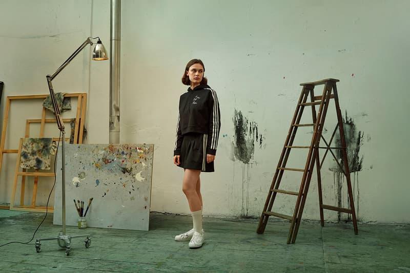 Y-3 Yohji Love Capsule Collection Jacket Skirt Black White