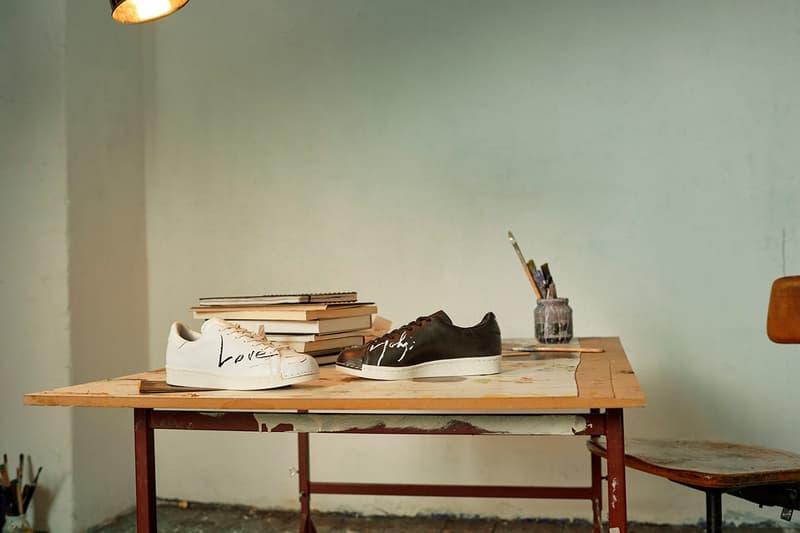 Y-3 Yohji Love Capsule Collection SUPER Sneakers Black White