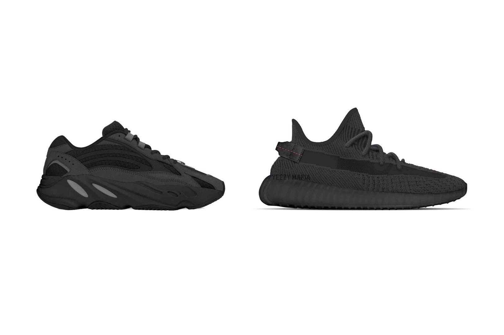 all black yeezy boost 700
