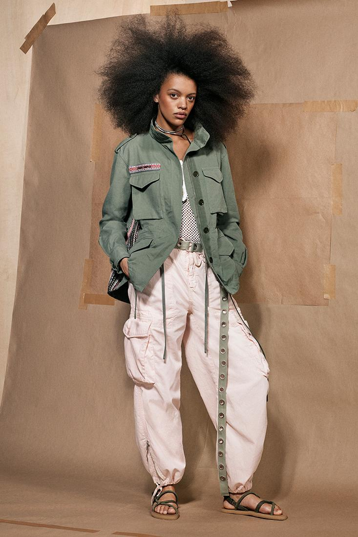 Zara SRPLS Military Collection 2 Release Clothes Lookbook