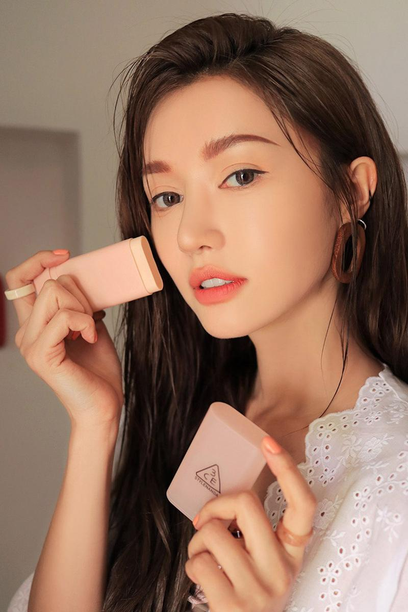 3CE Summer Makeup Collection K-Beauty Products Lipstick Blush Highlighter Sunscreen Remover Korean Eyeshadow Glitter