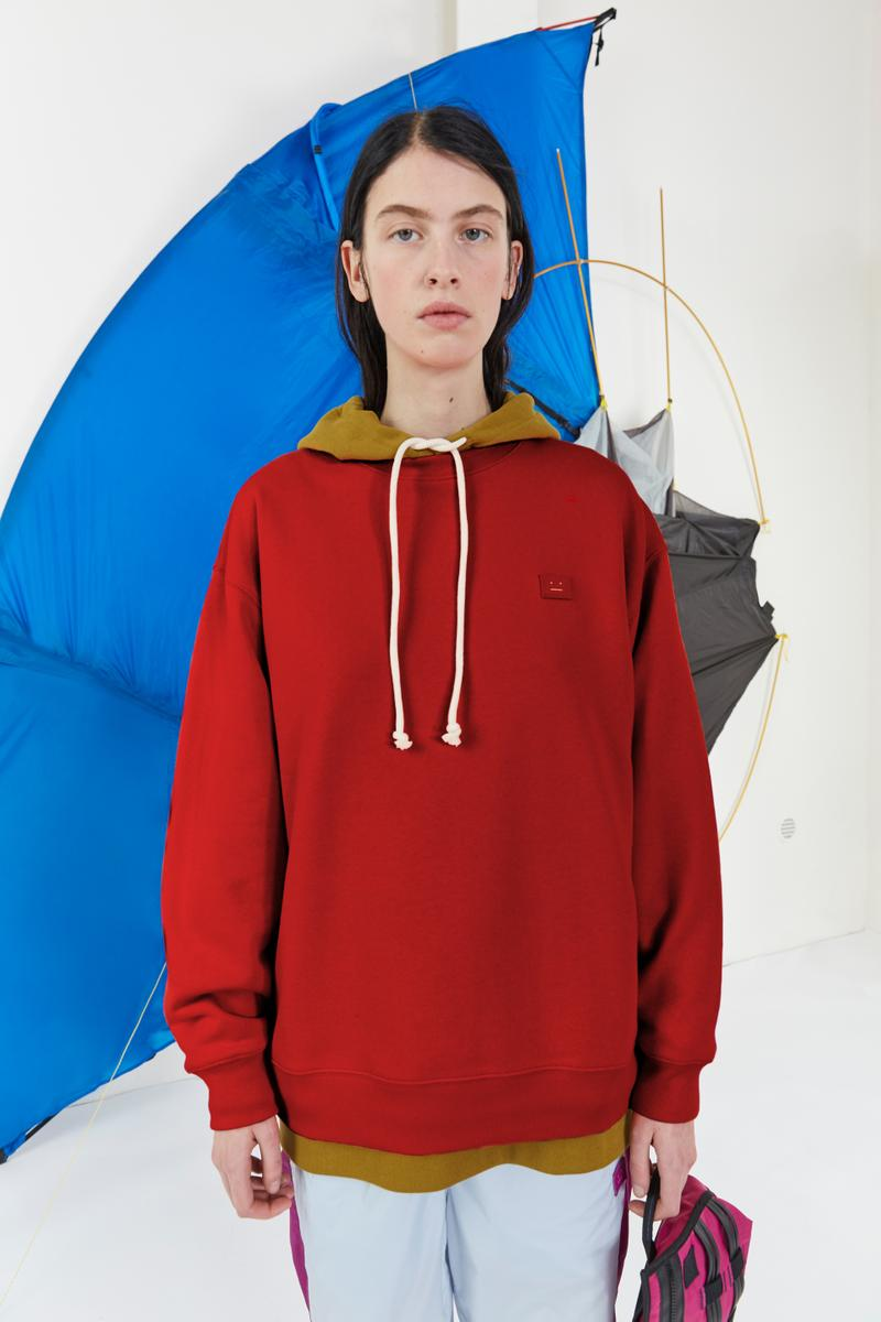 Acne Studios Fall/Winter 2019 Face Lookbook Hoodies Sneakers Apparel Range Logo SS19