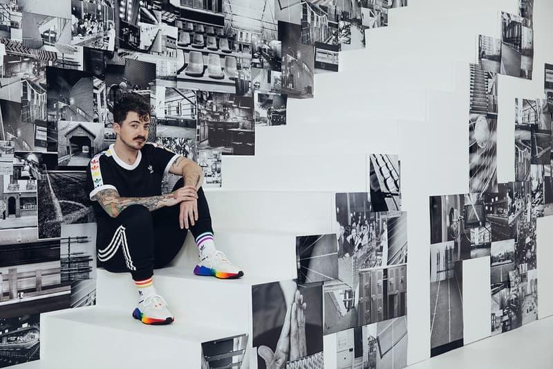 adidas Originals Love Unites Pride Month Pack Shirt Pants Black Sneakers White