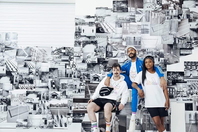 adidas Originals Love Unites Pride Month Pack Sweatsuit Blue Shirts White