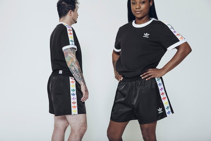 adidas Originals Love Unites Pride Month Pack Shirt Shorts Black