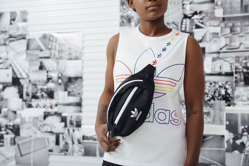 adidas Originals Love Unites Pride Month Pack Shirt White Fanny Pack Black