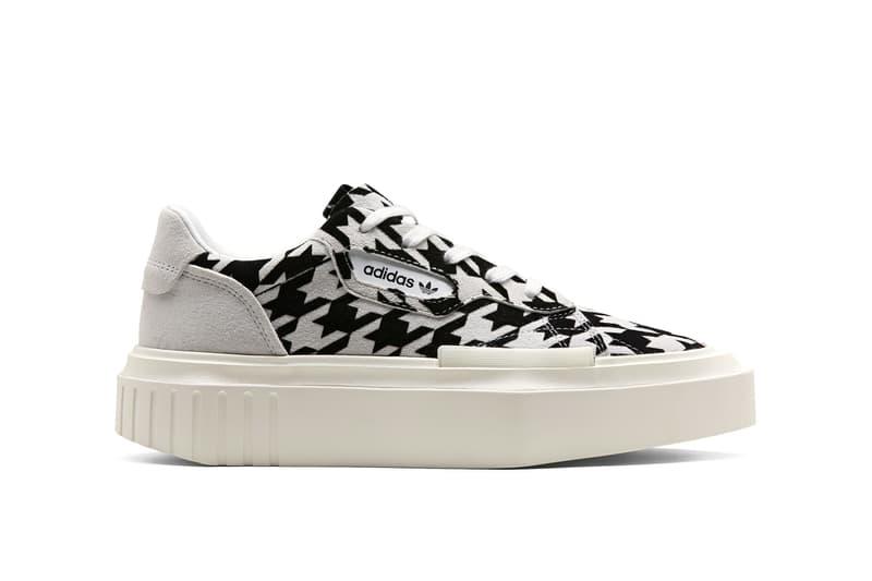 size 40 fe564 12982 adidas Originals Hypersleek Houndstooth Black White