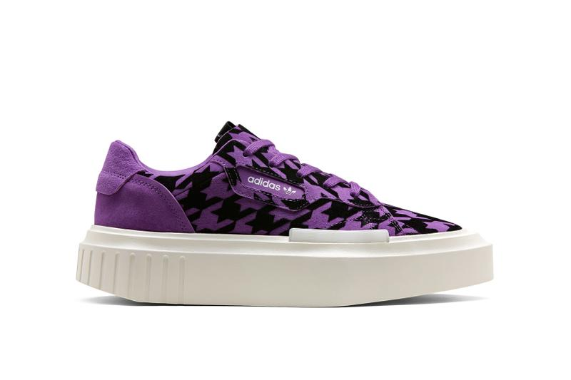 adidas Originals Hypersleek Houndstooth Black Purple