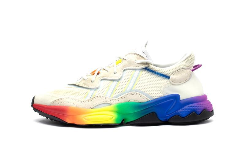 adidas Ozweego Pride Pack Rainbow Sole Sneakers Trainers