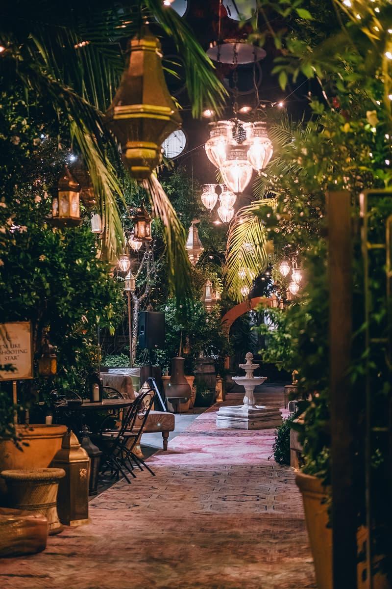 Disney Aladdin Café The Grounds Of Alexandria Sydney Australia Lights Live Action Reboot Remake Movie Film Installation