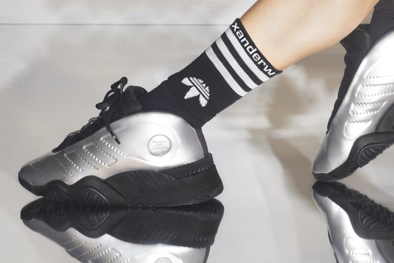 Alexander Wang x adidas Originals Season 5 Campaign AW Futureshell Silver Black