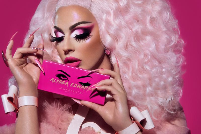 Alyssa Edwards Anastasia Beverly Hills Palette Eyeshadow Makeup Los Angeles Drag Con Beauty Launch Release Info