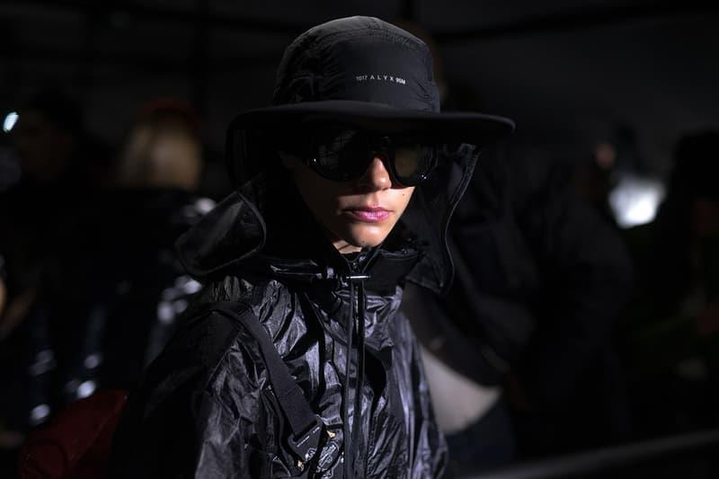 Moncler Genius Milan Fashion Week Fall Winter 2019 Show 1017 ALYX 9SM Matthew Williams Jacket Hat Black