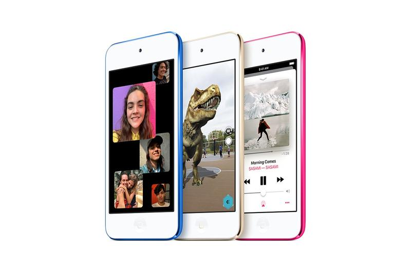 Apple iPod Touch Pink Blue Gold White