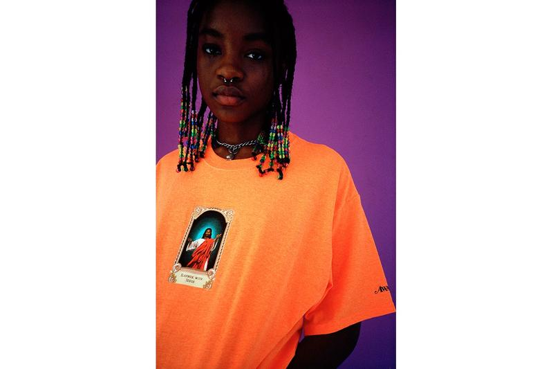 Awake NY Spring Summer 2019 Collection T Shirt Orange