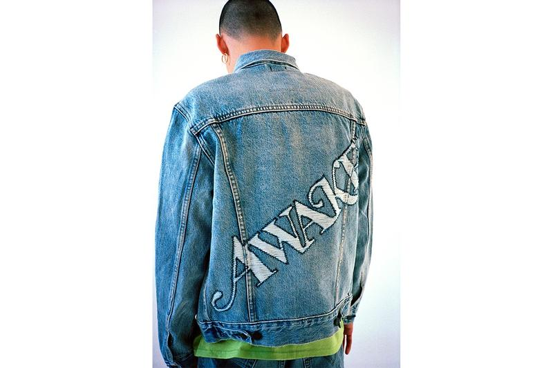 Awake NY Spring Summer 2019 Collection Jacket Blue