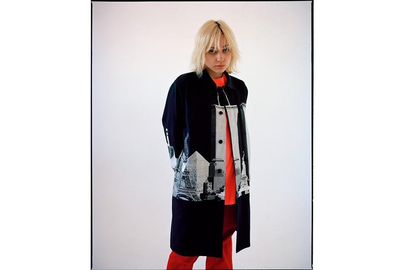 Awake NY Spring Summer 2019 Collection Trench Coat Black White