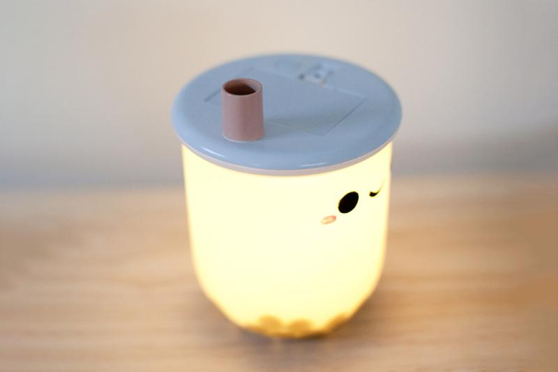 Bubble Tea Lamp Where to Buy Light Up Home Decor Drink Cute Adorable Interior Design Decoration