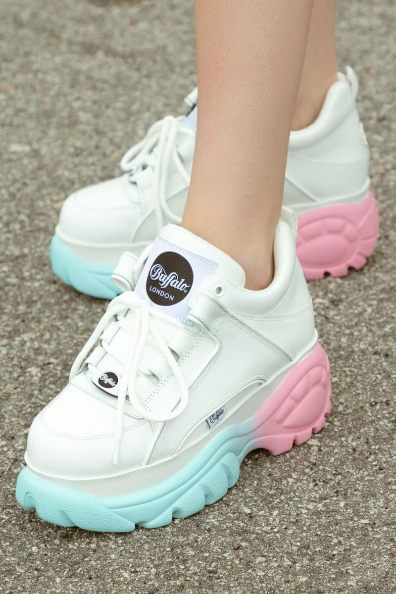 quality design 94590 1f8a5 Buffalo London Pastel Gradient Sneaker HBX | HYPEBAE