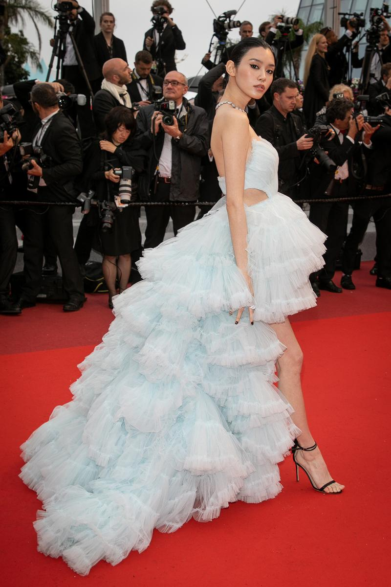 Ming Xi Chinese Supermodel Model Cannes Film Festival 2019 Les Plus Belles Annees D'Une Vie Red Carpet