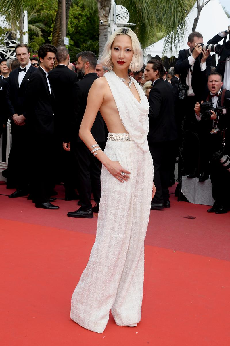 Soo Joo Park Once Upon A Time In Hollywood Cannes Film Festival 2019 Red Carpet Chanel