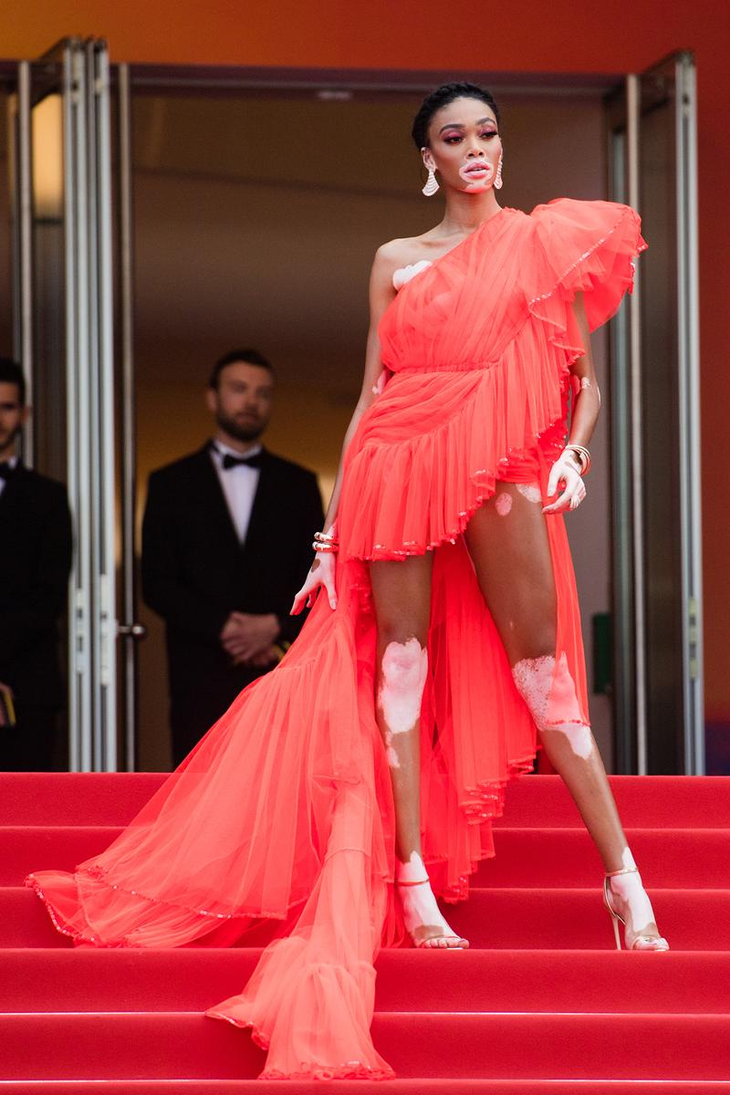 Winnie Harlow Once Upon A Time In Hollywood 72nd Annual Cannes Film Festival Red Carpet Dress