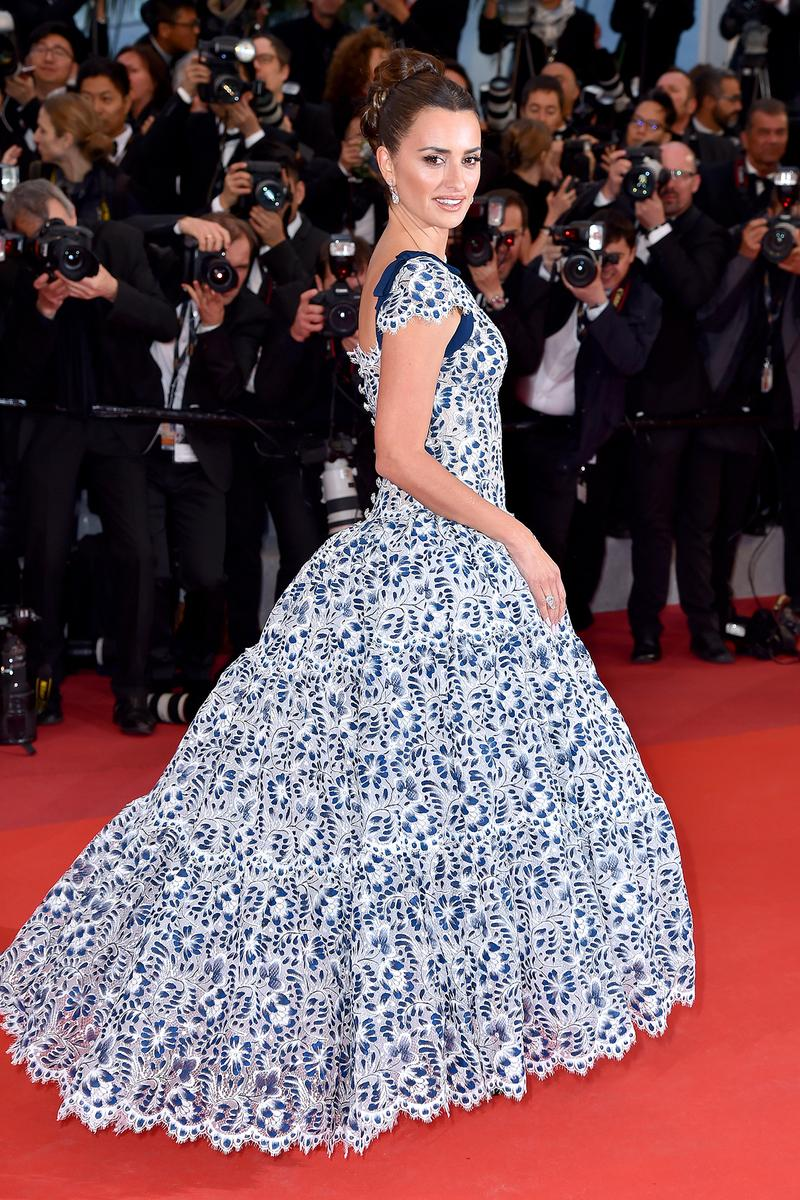 Penelope Cruz Pain and Glory Red Carpet 72nd Cannes Film Festival Chanel Dress