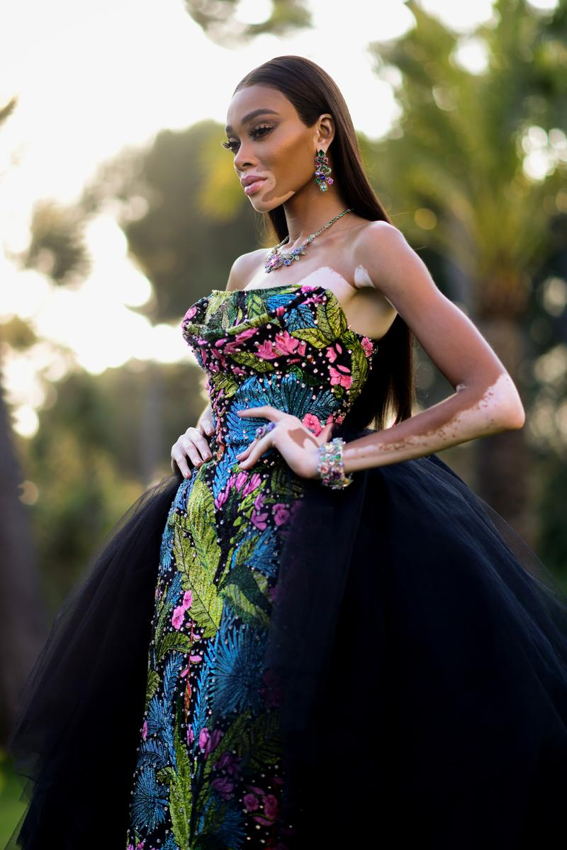 Winnie Harlow amfAR Cannes Gala 2019 Dress
