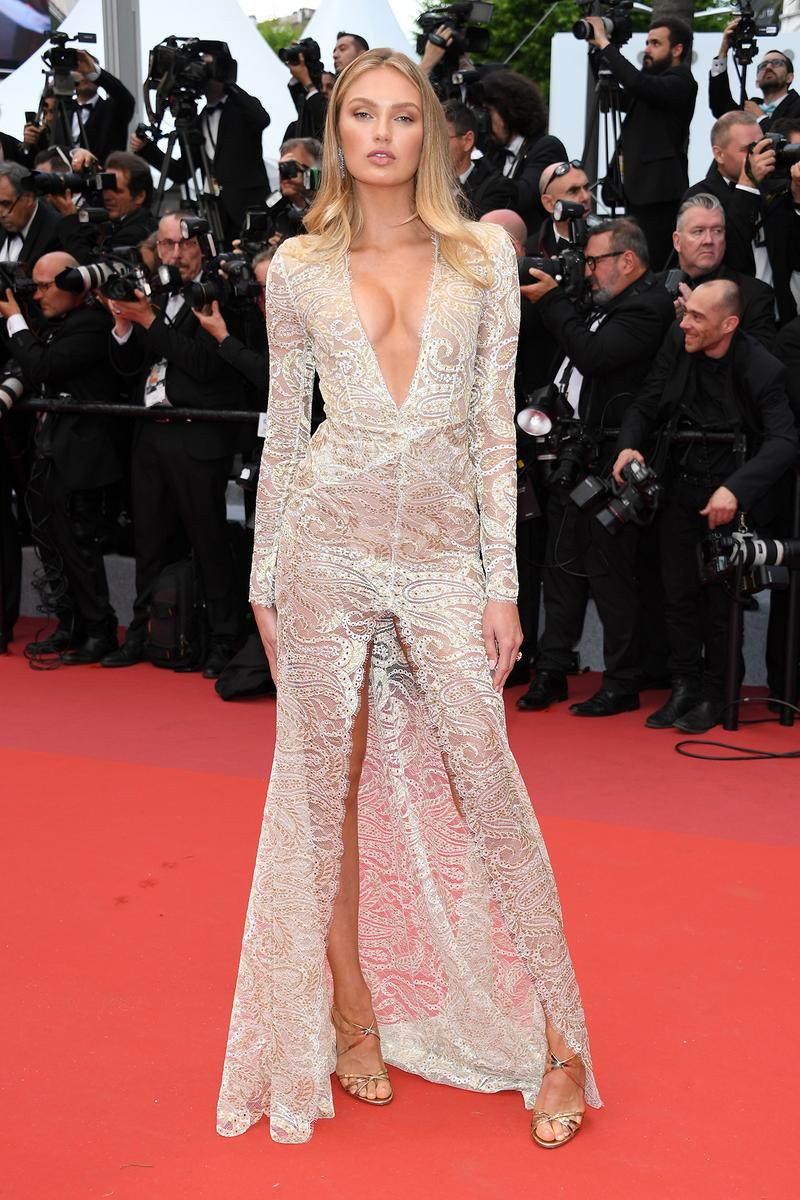 Romee Strijd 72nd Cannes Film Festival 2019 The Dead Don't Die Red Carpet Dress