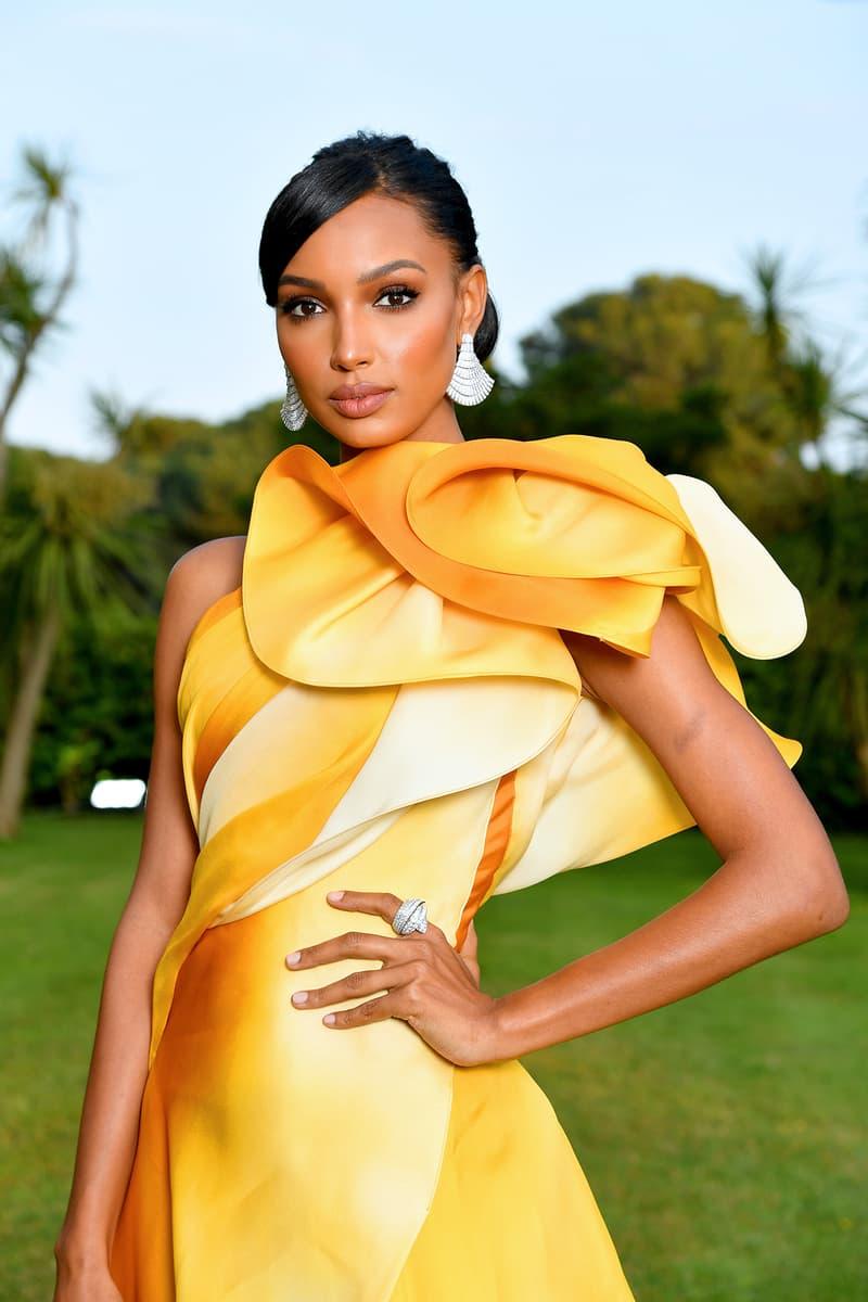 Jasmine Tookes amfAR Cannes Gala 2019 Yellow Dreww