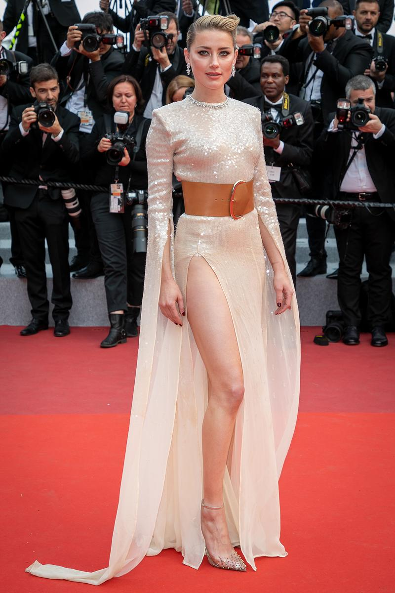Amber Heard 72nd Cannes Film Festival Red Carpet Dress
