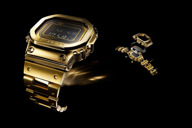 G-Shock 18K Gold Watch GD5000-9JR