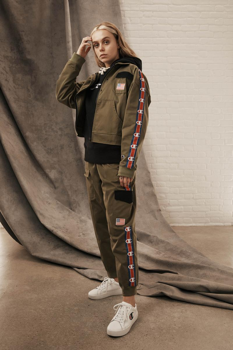 Champion Reverse Weave Fall Winter 2019 Collection Sweatsuit Green