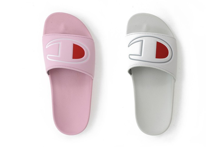 7657d4d2d Champion's Latest Logo Slides Are the Ultimate Summer Accessory
