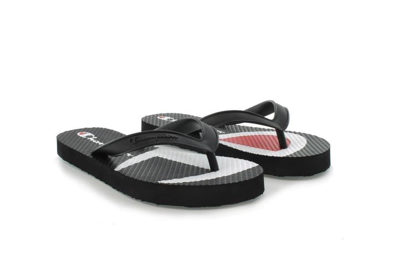 75a2f4828 Champion Logo Slides and Flip Flops Summer Collection Shoe Pink White Black  Purple Pastel Slide Sandal
