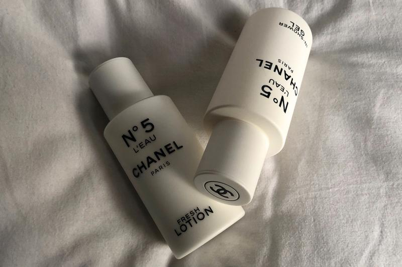 Chanel N°5 L'Eau In Shower Gel Fresh Body Lotion Travel Skincare Bath Products