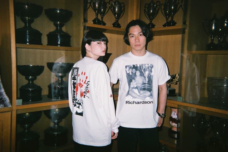 Chiyonofuji Mitsugu x Richardson Capsule Collection Kozue Akimoto Long Sleeve Shirt Tee White