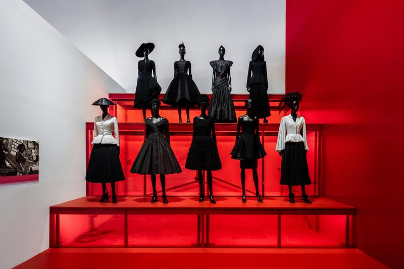 Christian Dior From Paris to the World Exhibit Dresses Skirts Black Shirts White