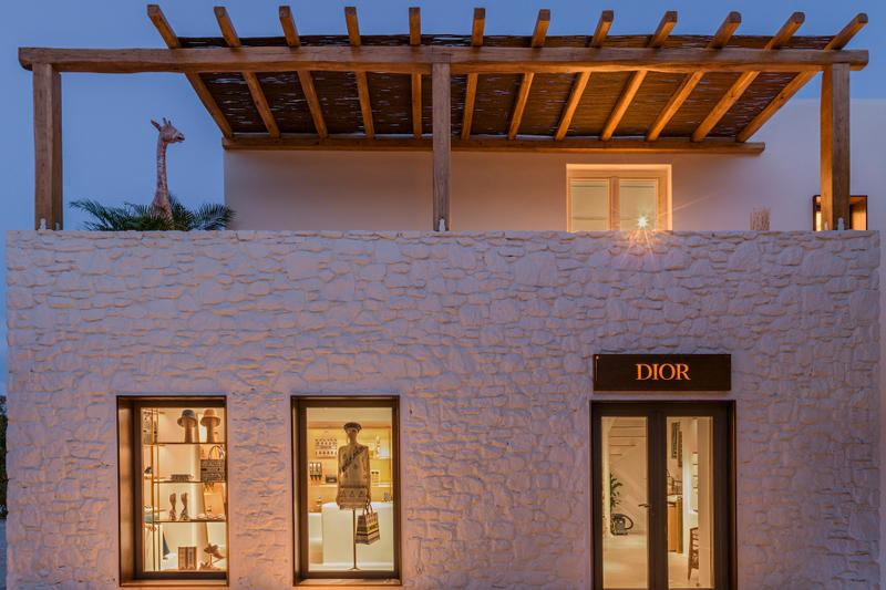 "Dior Opens ""Dioriviera"" Mykonos Pop-Up Store Shop Collection Maria Grazia Chiuri Kim Jones Collection Fashion Greece"