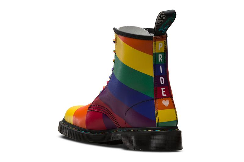 Dr. Doc Martens 1460 Rainbow Flag Pride Month Boot akt LGBTQ+ Charity