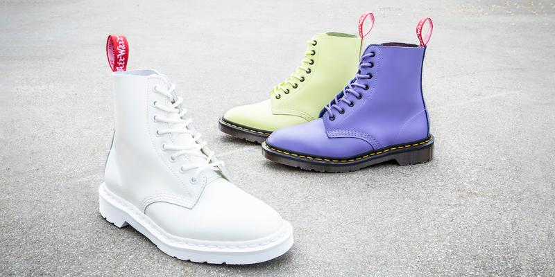 Dr. Martens Undercover Collaboration Pastel Boots Release Collection Leather Shoes Spring Summer