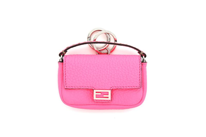 Fendi Roma Amour Capsule Collection Mini Baguette Pink
