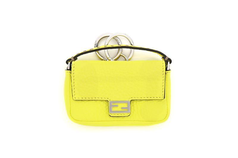Fendi Roma Amour Capsule Collection Mini Baguette Yellow