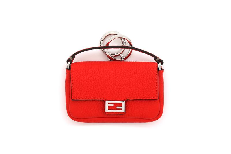 Fendi Roma Amour Capsule Collection Mini Baguette Red