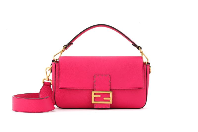 Fendi Roma Amour Capsule Collection Baguette Pink