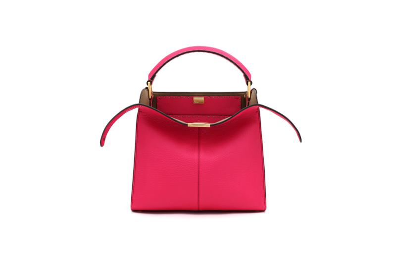 Fendi Roma Amour Capsule Collection Top Handle Bag Pink