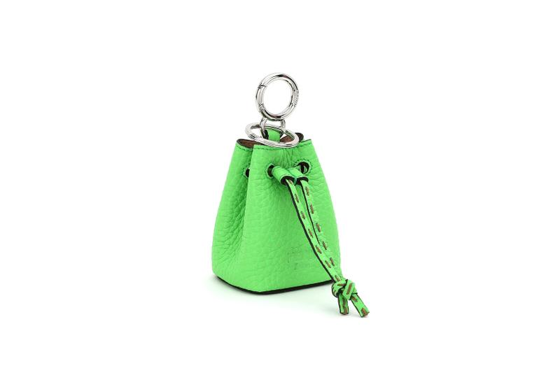 Fendi Roma Amour Capsule Collection Mini Keychain Green